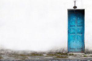 Creative Space Carta Parati Blue