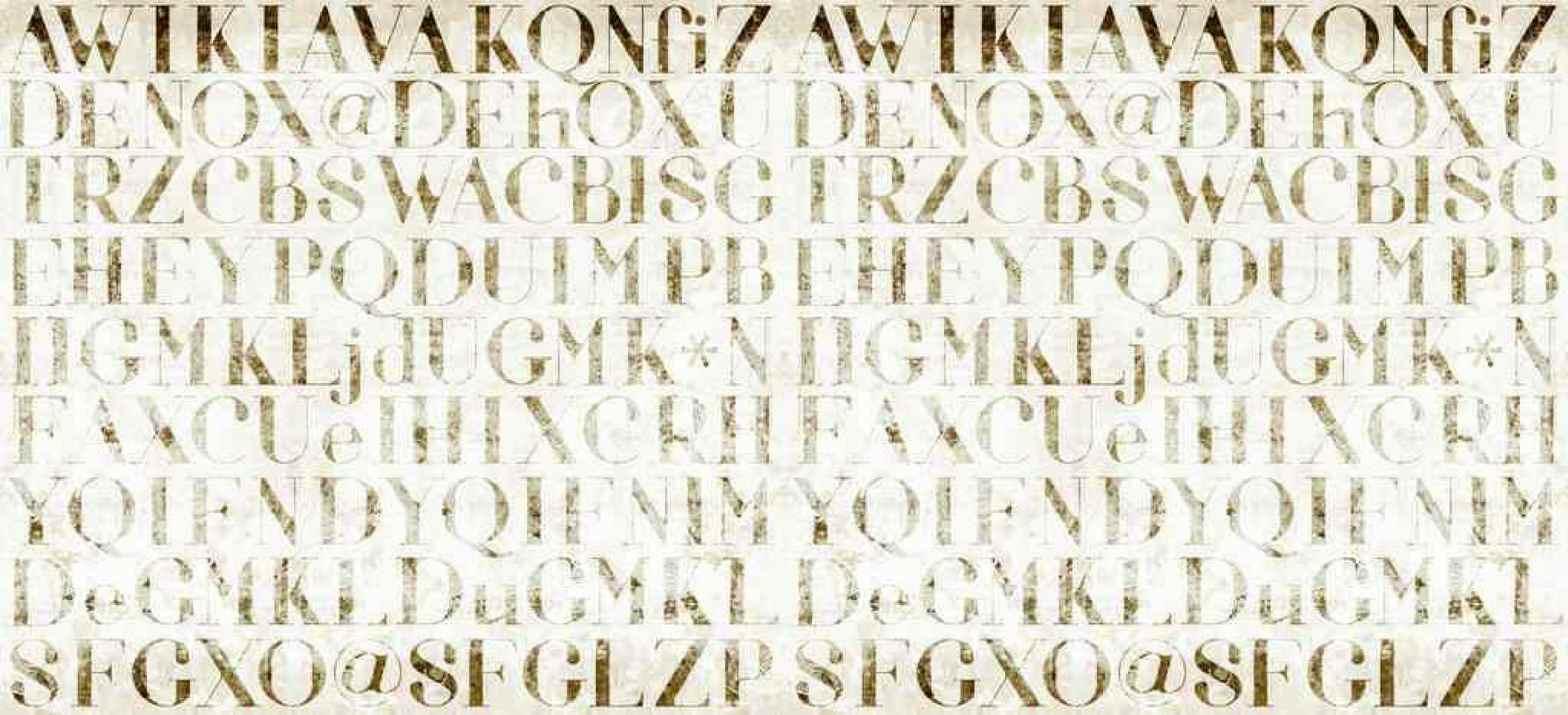 Inkiostro Bianco Carta Parati OOCI1303