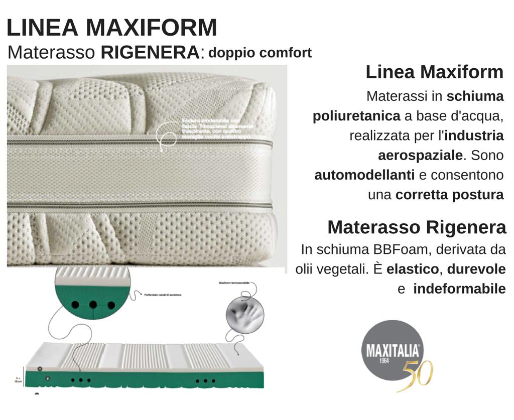 Materasso Maxitalia Rigenera