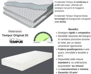Materasso Tempur Original 25