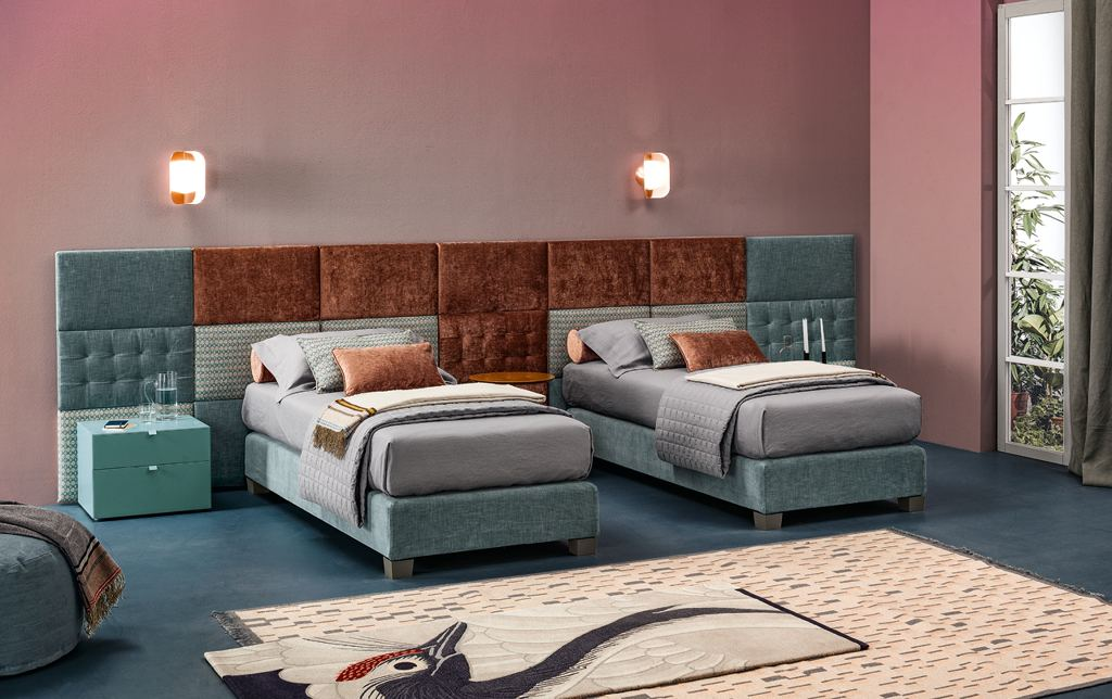TWILS LETTO SOMMIER BOX SPRING H22